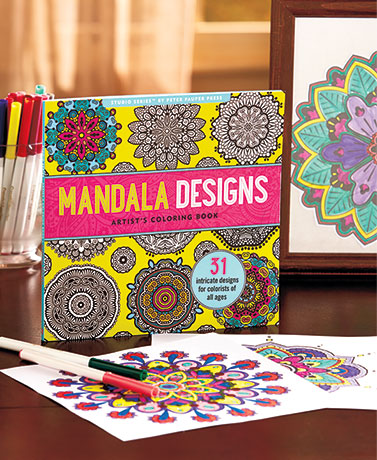 Intricate Designs Coloring Books