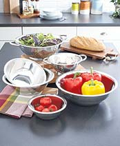 6-Pc. Stainless Steel Bowl Set