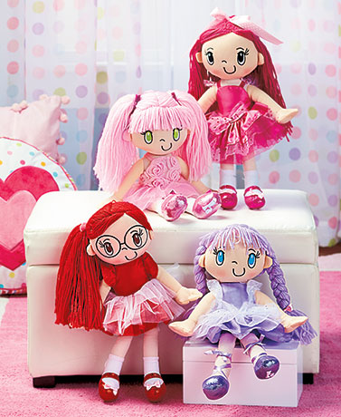 My Friend Huggles� Fabric Dolls