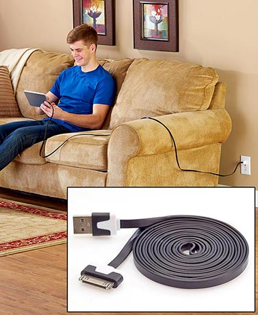 8-Ft. Sync & Charging Cords for Phones & Tablets