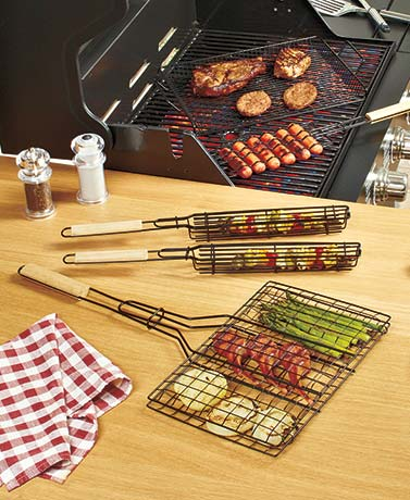 5-Pc. Ultimate Grill Basket Set