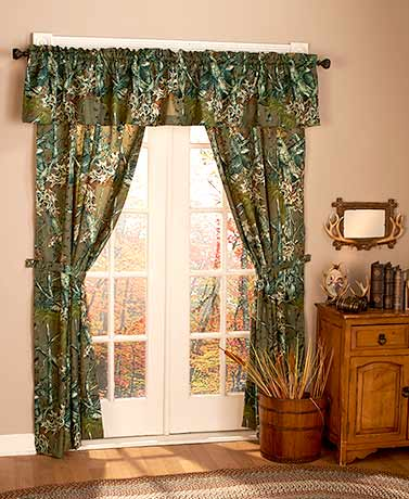 The Woods® 5-Pc. Window Curtain Sets