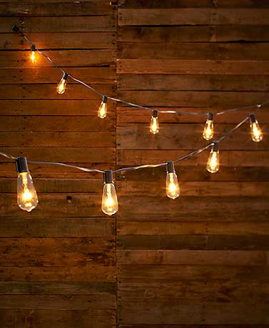 Edison-Style Bulb String of Lights