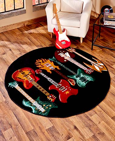 Themed Guitar Rug Collection Ltd Commodities