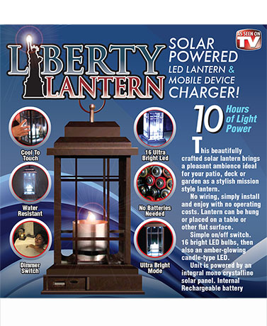 Liberty Lantern 3-in-1 Rechargeable LED