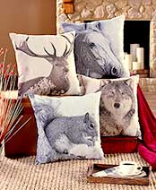 Wildlife Decorative Pillows
