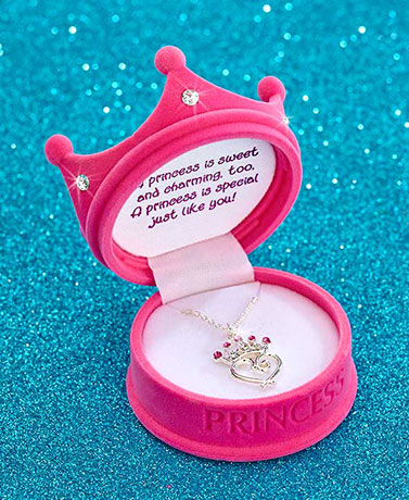 Birthstone Princess Necklaces
