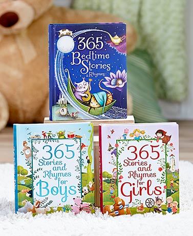 365 Stories and Rhymes Treasury Books