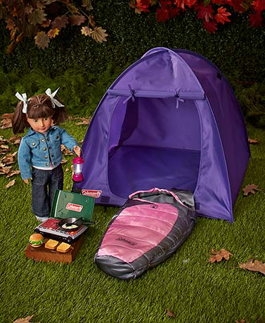 "Coleman® 18"" Doll Camping Collection"