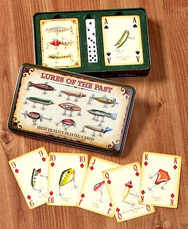 Antique Lures Card & Dice Gift Tin