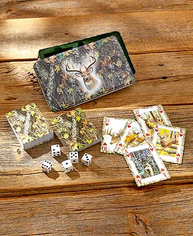 Outdoorsman Card & Dice Gift Tins