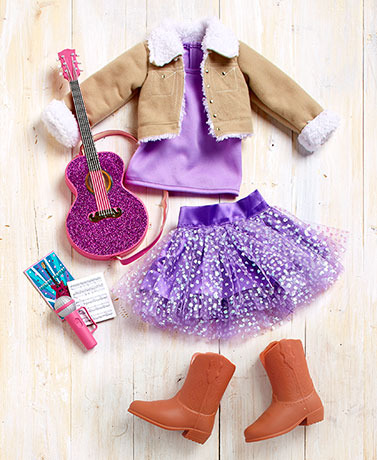 "18"" Dolls' Country Star Outfit Set"