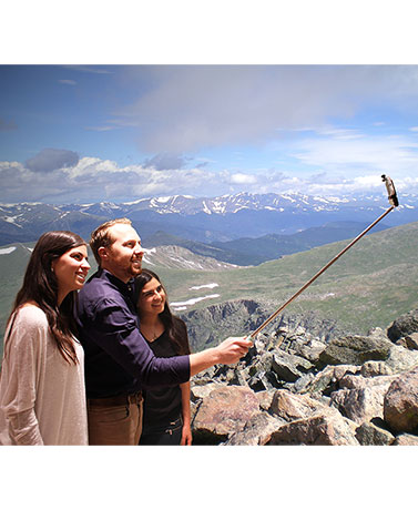 Fashion One-Touch Click Selfie Sticks