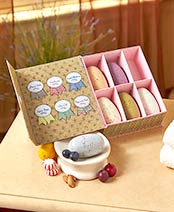 Simply be well 6-Pc. Sampler Soap Gift Box