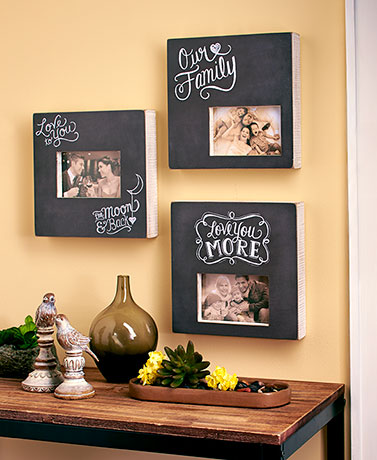 Wood Box Photo Frames