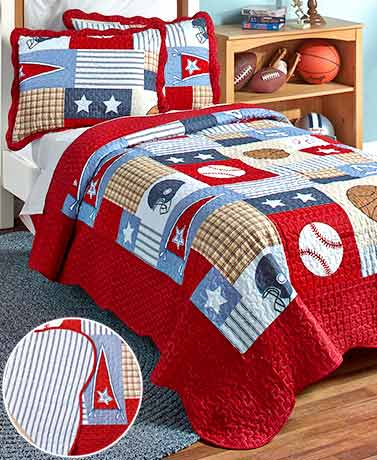 Sports Arena Quilt Sets