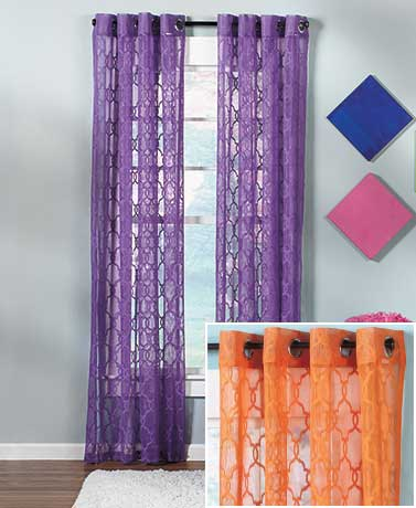 Bright Lace Window Curtain