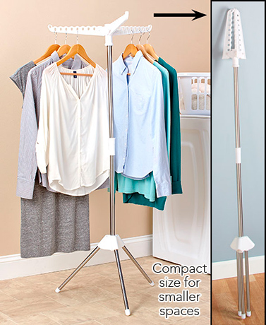 Clothing Hanger and Drying Rack