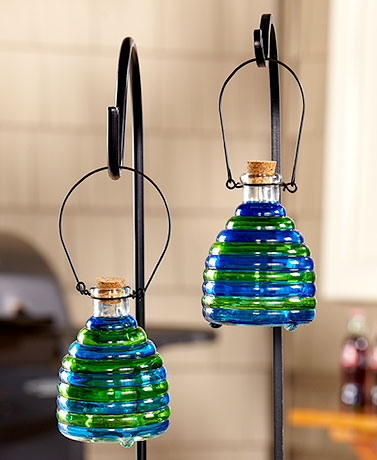 Sets of 2 Colorful Wasp Traps