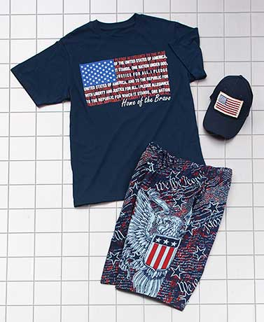 Men's USO Apparel Collection