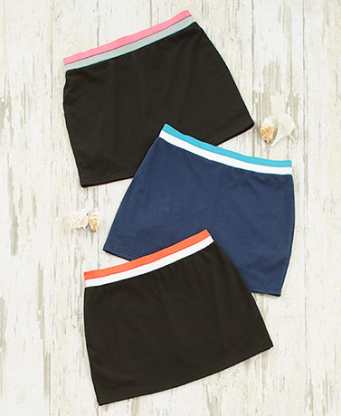 Women's and Women's Plus 3-Pk. Skorts
