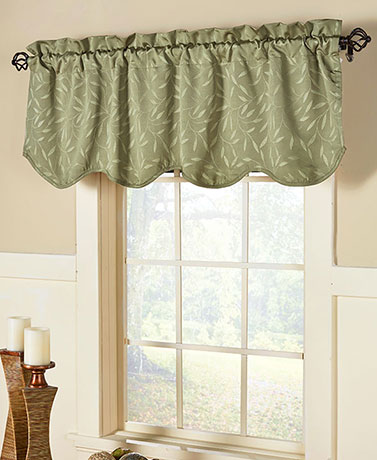 Whitfield Scalloped Valances