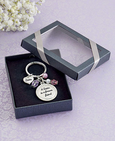 Sentiment Key Chain in Gift Box