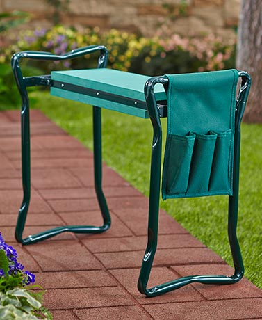 ... Garden Kneeler Seat With Pouch