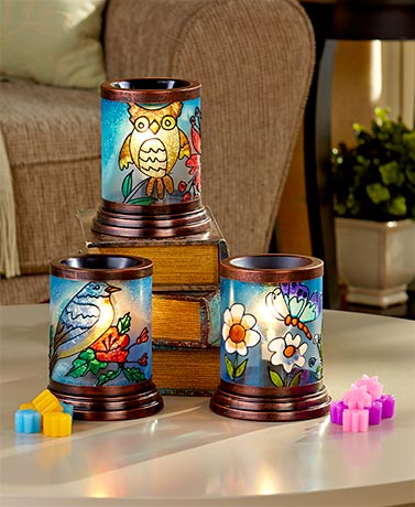 Lighted Electric Tart Warmers or Tarts