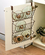 Cabinet Lid Organizers
