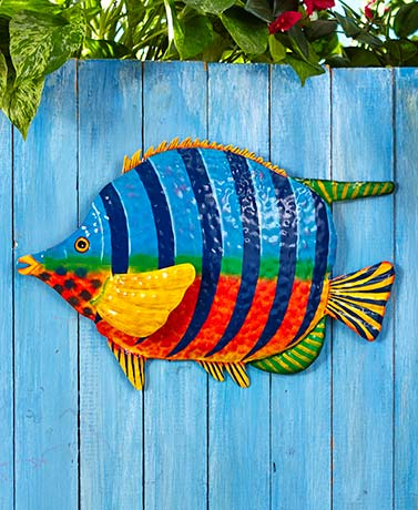Tropical metal wall sculptures ltd commodities for Tropical metal wall art