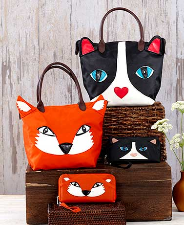 Critter Tote or Wallet Collection