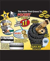 Pocket Hose™ Top Brass™ II