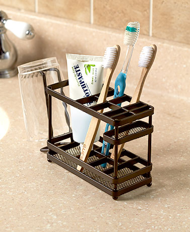 Bathroom Countertop Organizers