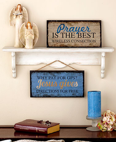 Religious Humor Wall Hangings