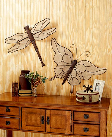 Jumbo Rustic Wall Sculptures