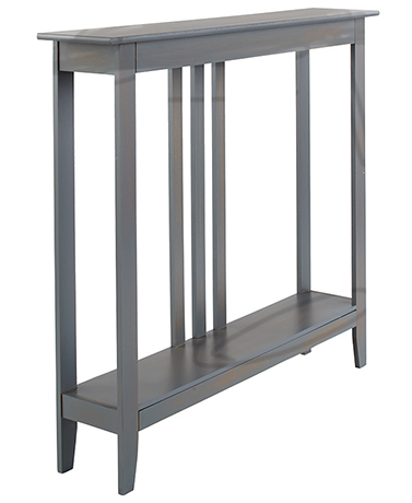 Slim Space-Saving Accent Tables