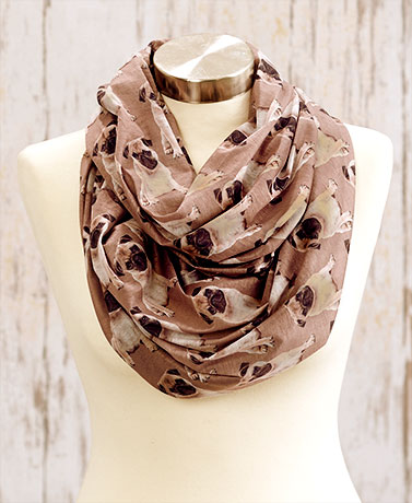 Dog Breed Endless Loop Scarves