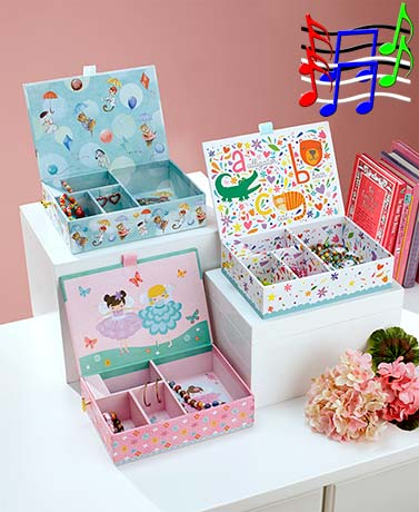 Girls' Musical Jewelry Boxes