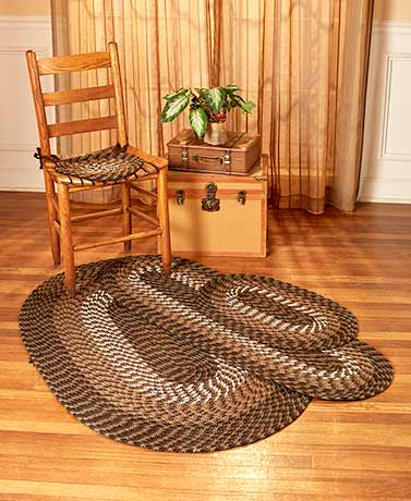 Braided Rug or Chair Pad Sets