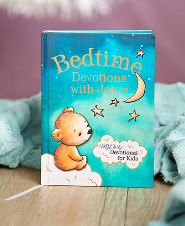 Bedtime Devotions with Jesus Book