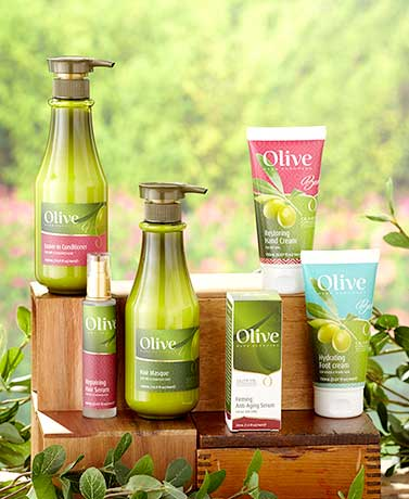 Olive Oil Hair and Skin Treatments