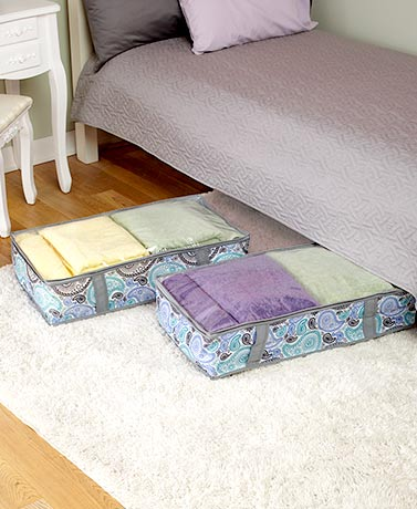 Sets of 2 Underbed Storage Bags