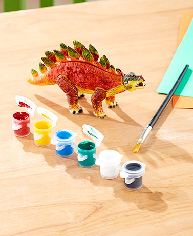 Paint Your Own Dinosaur