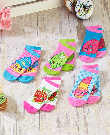 Shopkins™ Canvas Shoes or 5-Pair Socks