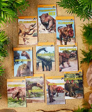 Smithsonian Dinosaur 10-Book Set