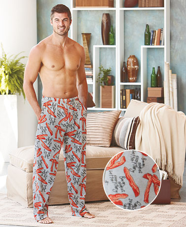 Men's Novelty Knit Lounge Pants