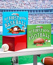 My First Book of Football or Baseball