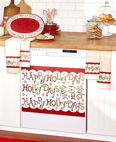 Happy Holly Days Kitchen Collection
