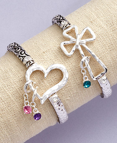 Stretch Bracelets or Birthstone Charms